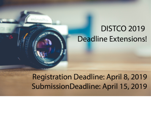 Registration & Submission Deadline is extended!