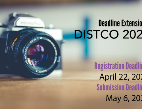 Registration & Submission Deadlines are extended!